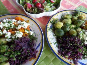 Rotkraut Lebensküche Ernährung im Winter Regina Herrmann