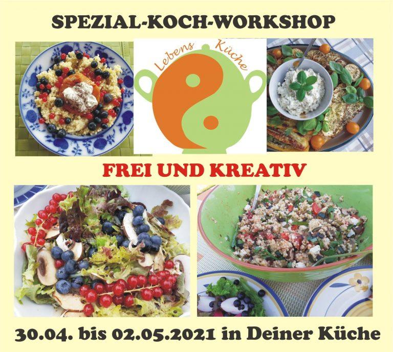 Kreativ koch Kurs LebensKüche online Regina Herrmann